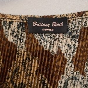Brittany Black Tops - Lady Blouses